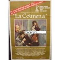 Afiche La Colmena Victoria Abril, Francisco Algora 1982
