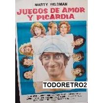 Afiche Juegos De Amor Y Picardía Marty Feldman 1976