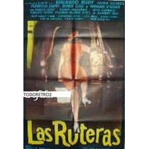Afiche Las Ruteras Eduardo Rudy, Hilda Suárez F Luppi 1968