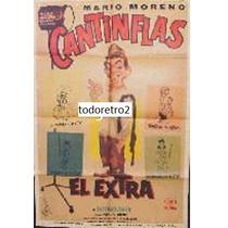 Afiche Original El Extra - Cantinflas - 1962