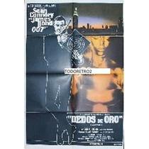 Afiche Dedos De Oro James Bond Sean Connery 1964