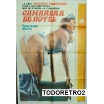 Afiche Camarera De Hotel Anna Maria Rizzoli 1981