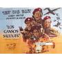 Afiche Los Gansos Salvajes Richard Burton, Roger Moore 1978