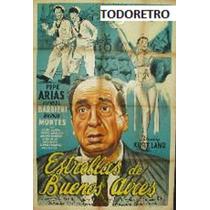 Afiche De Cine Estrellas De Buenos Aires - Pepe Arias - 1965