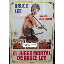 Afiche El Juego Mortal De Bruce Lee - Colleen Camp - 1978
