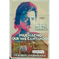 Afiche Muchacho Que Vas Cantando Palito Ortega Alighieri1971