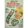 Afiche Mi Secretaria Está Loca, Loca Loca Violeta Rivas 1967