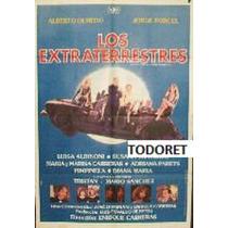 Afiche Los Extraterrestres Alberto Olmedo Jorge Porcel 1983