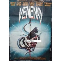 Afiche Veneno Klaus Kinski Oliver Reed Nicol Williamson 1981