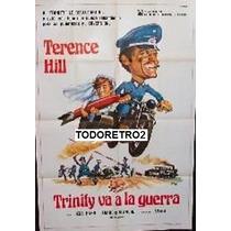 Afiche Trinity Va A La Guerra Rita Pavone Terence Hill 1967