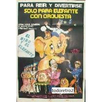 Afiche El Circo De Tres Pistas De Moscu Yevgeni Leonov 1975