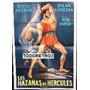 Afiche Las Hazañas De Hércules - Steve Reeves - 1958