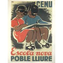 Guerra Civil Española-propaganda Politica-lamina-22 X 28(78)
