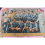 Antigua Lámina Central Mundo Deportivo Campeonato 1956 Tigre