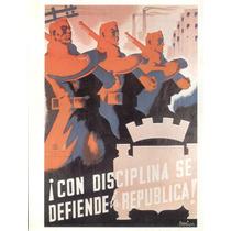 Guerra Civil Española-propaganda Politica-lamina-22 X 28(55)