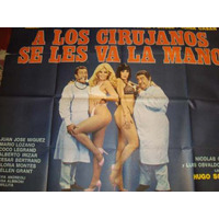 Afiche De Cine Antiguo Y Original Con Porcel-olmedo-
