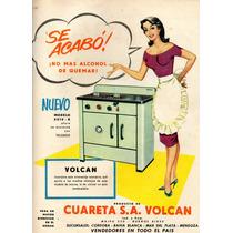 Antigua Propaganda De Cosina Volcan