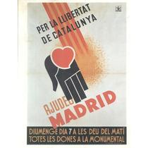 Guerra Civil Española-propaganda Politica-lamina-22 X 28(47)