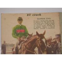 Antiguo Poster El Crack Guardia Civil Amado Gutierrez 1929