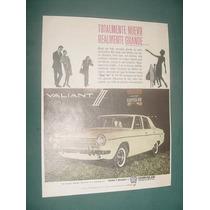 Publicidad Clipping Automoviles Valint Chrysler Nuevo Grande