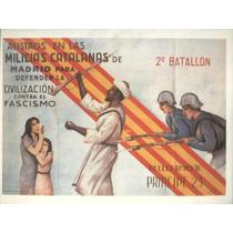Guerra Civil Española-propaganda Politica-lamina-22 X 28(69)