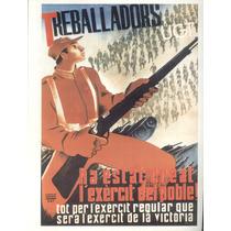 Guerra Civil Española-propaganda Politica-lamina-22 X 28(56)