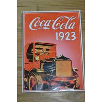 Coca-cola 1923 Preciosa Lamina Coleccionable