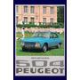 Poster Carteles Antiguos 60x40cm Peugeot 201 301 Au-632
