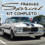 Franjas Ford Falcon Sprint Kit Completo En Vinilo (ploter)