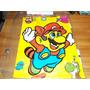 Mantel De Cotillon Retro Super Mario