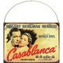 Carteles Chapa, Retro, Cine Casablanca Bogart L963