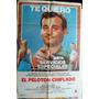 Poster El Peloton Chiflado Con Bill Murray