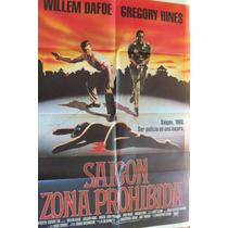 Poster Saigon Zona Prohibida William Dafoe