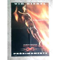 Xxx 1396 Vin Diesel Afiche De 1 X 0.70
