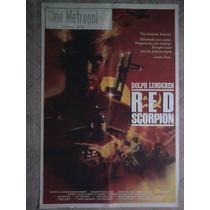 Red Scorpion 1307 Dolph Lundgren Afiche De 1.10 X 0.75