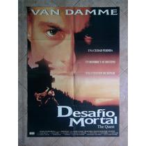 Desafio Mortal 1421 J. C. Van Damme Afiche De 1 X 0.70