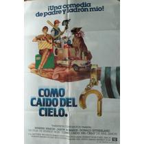Poster Como Caido Del Cielo Con Donad Shuterland 1983