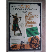 El Pequeño Gran Robin Hood 1673 Afiche De 1.10 X 0.75