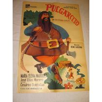 Afiche Antguo Con Maria Elena Marquez