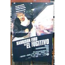 El Fugitivo ! Afiche Cine Orig 1993 ! Harrison Ford N304