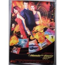 Poster Cine 007 James Bond, El Mundo No Basta