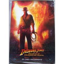 Poster Cine Indiana Jones Y El Reino De La Calavera De Crist