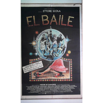 El Baile 0129 Ettore Scola Afiche De 1.10 X 0.75