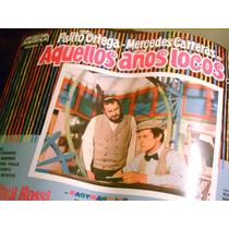 Antiguo Afiche Cine Palito Ortega Aquellos Años Locos 1971