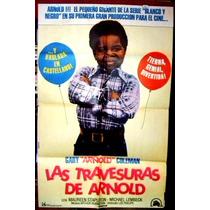 Gary Coleman Afiche Cine Orig 1981 Blanco Y Negro N311