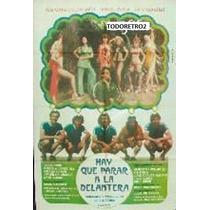 Afiche Hay Que Parar La Delantera - Marcela Lopez Rey - 1977