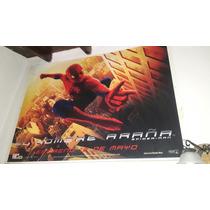 Poster Plastio Original De Cine Hombre Araña / Spiderman