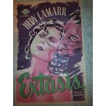 Afiche De Cine: Extasis - 1933 - Hedy Lamarr