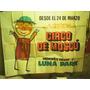 Afiche Antiguo Circo Moscu Luna Park1970