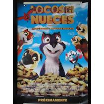 Poster Original Pelicula Locos Por Las Nueces
